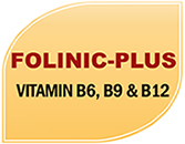 Folinic-Plus - Vitamin B6, B9 & B12